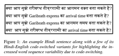 Language Modelling Of Hindi English Code Switched Data A Novel Approach Kunal Dhawan